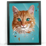 Katze Illustration Printe Shop Annika Kuhn