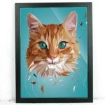 Katze Illustration Printe Shop Annika Kuhn