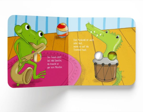 """Fingerspielbuch """"Mit Pauken und Trompeten"""", Gruhnling Kinderbuch Verlag, Pappbuch, Pappebuch, Mitmachbuch"""