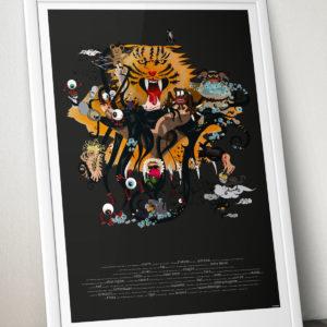Albtraumposter, Vektorillustration, Annika Kuhn im PrinteShop, DIN A1, Kleinserie