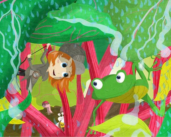 Pinipas Abenteuer, Als Gartendetektivin durch Wind und Wasser, Wetterfrosch, Annika Kuhn & Martin Grolms