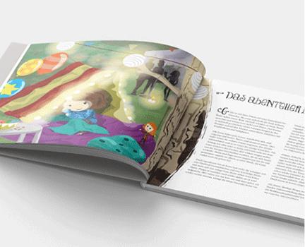 Pinipas Abenteuer 5 – Manege frei für den Waldzirkus, Blick ins Buch, Kapitel 1